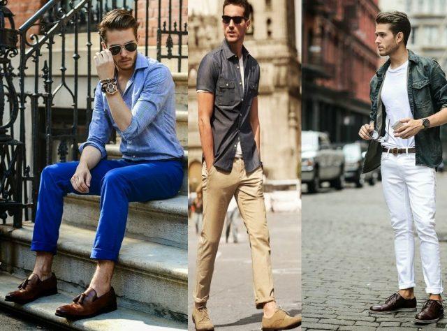 Uzun Boylu Erkek Giyim Tarzı